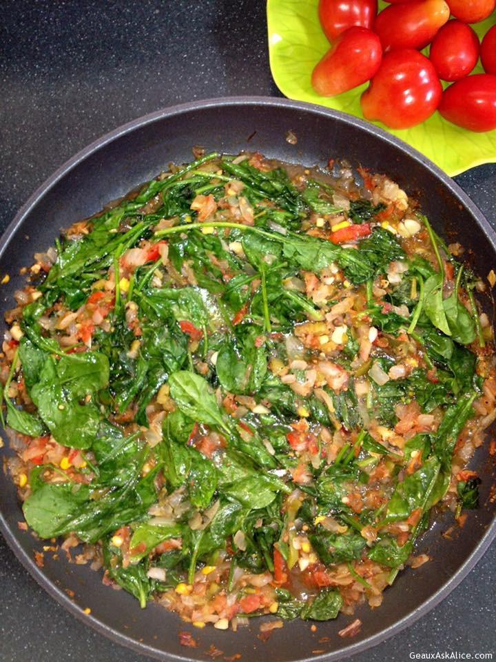 Pick-Sauté Spinach