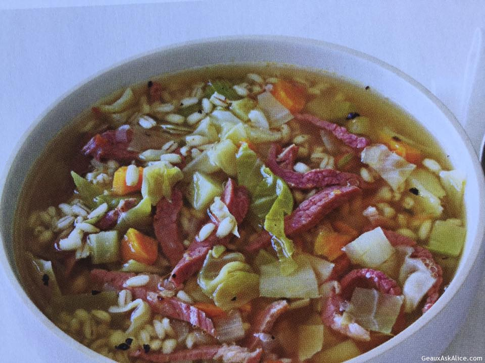Unique Corned Beef And Cabbage Soup