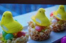 Easter Peep Egg Nests