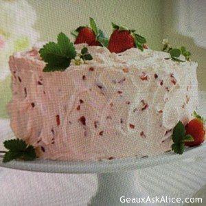Glorious Strawberry Lemonade Cake