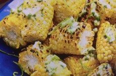 Grilled Jalapeño-Lime Corn on the Cob