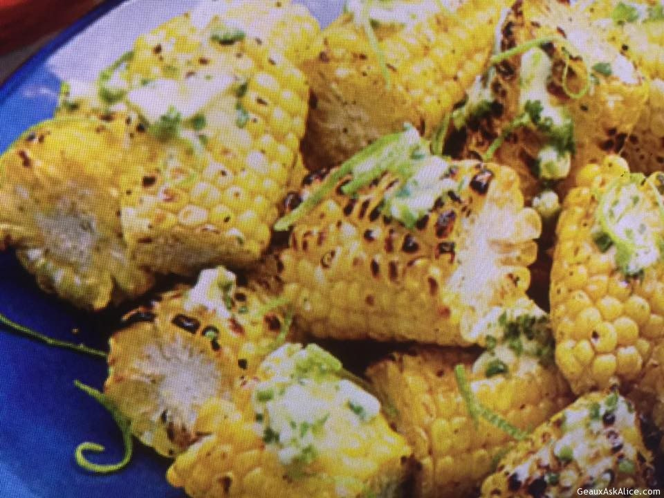 Grilled Jalapeño-Lime Corn on the Cob - Geaux Ask Alice!