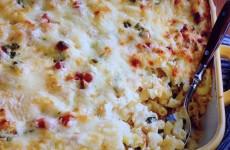 Mac and Cheese Carbonara