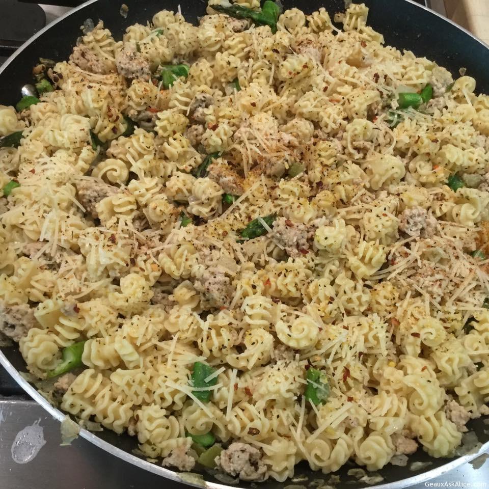 Maw-Maw's Springtime Pasta
