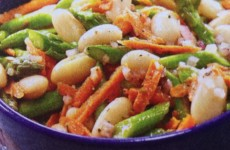Tangy Asparagus and White Bean Salad