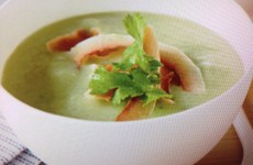 Tangy Avocado-Cucumber Soup