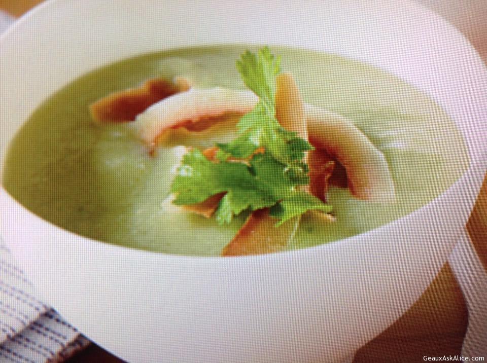 Tangy Avocado-Cucumber Soup
