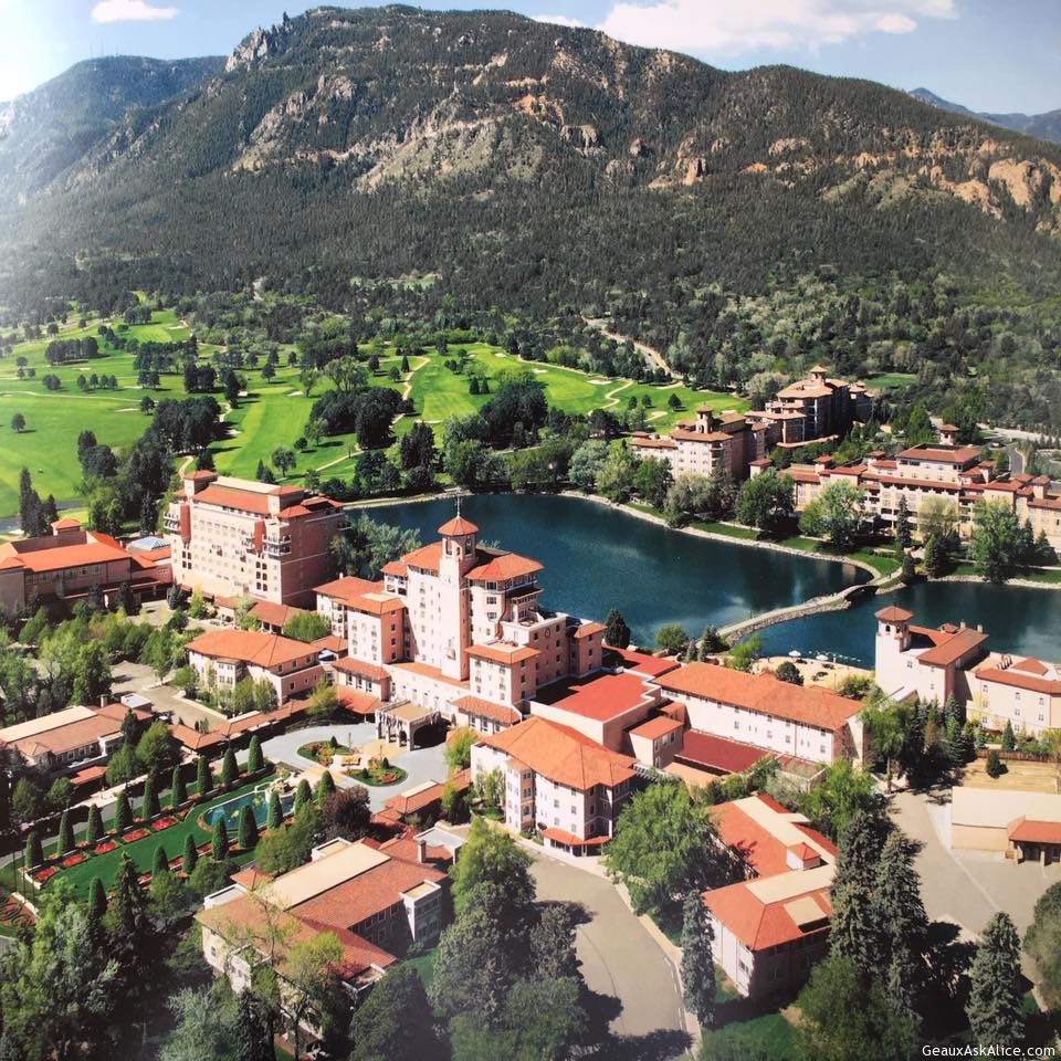 Our Destination-The Broadmoor Hotel In Colorado Springs