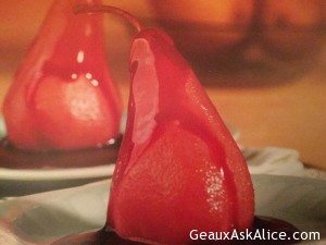Delightful Cabernet Pears