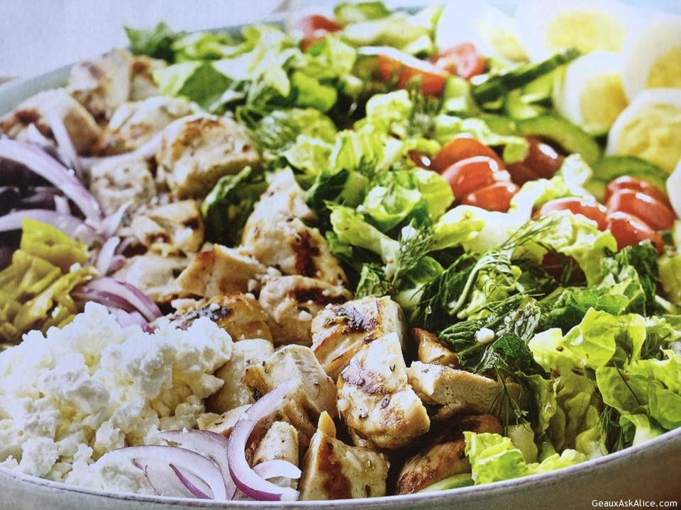 Fresh And Easy Greek Cobb Salad