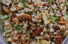 Holiday Wild Rice and Mushrooms
