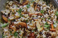 Holiday Wild Rice And Mushrooms