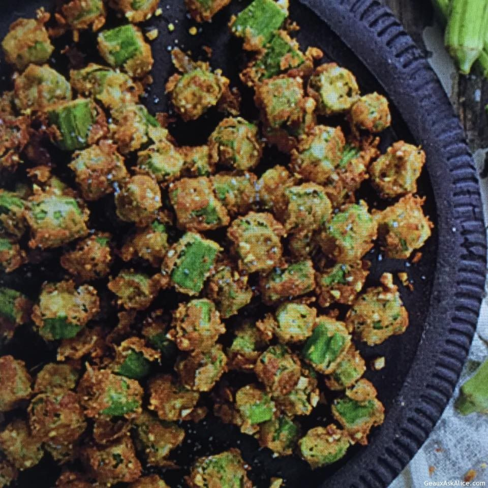 Nutty And Crunchy Okra