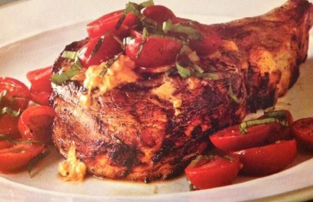 Pan Grilled Veal Chop