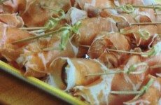 Prosciutto and Cheese Wrapped Figs