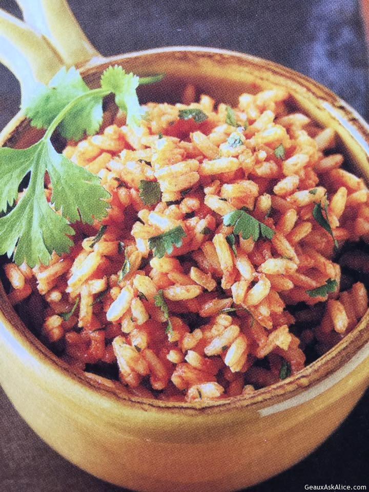 Quick Tomato-Cilantro Rice