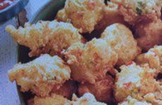 Southern Crab Cake Hush Puppies
