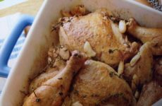 Baked Chicken With
