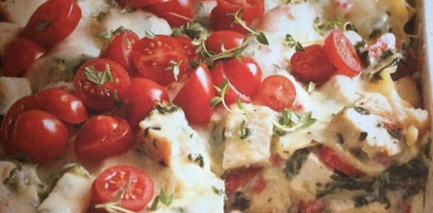 Chicken Lasagna Caesar Style