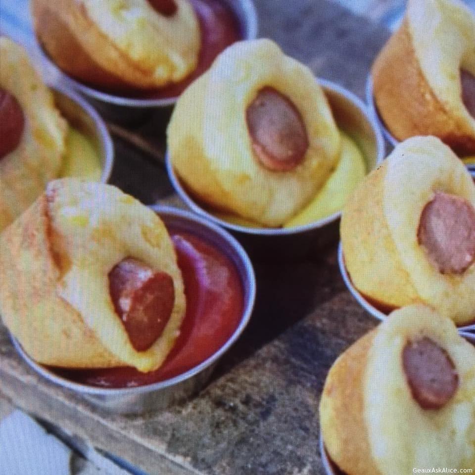 Corny Dog Muffins