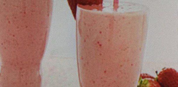 Creamy and Fresh Strawberry Milkshakes