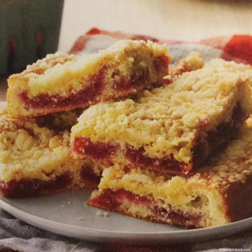 Fruity Raspberry Coffee Cake