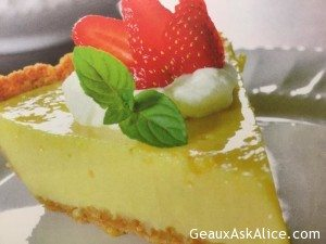 Home-Town Plaquemines Parish Citrus Pie