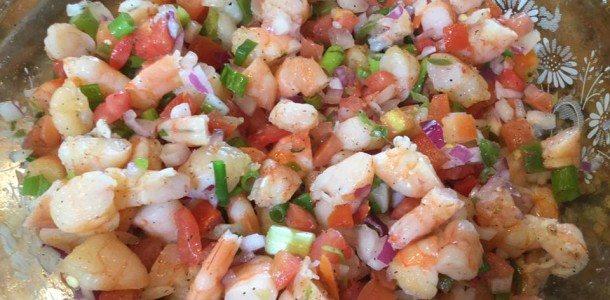 Sensational Shrimp Pico Dip