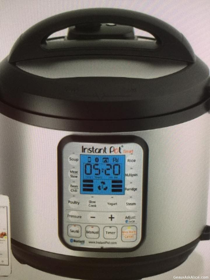 Today's Gadget Is The Instant Pot!