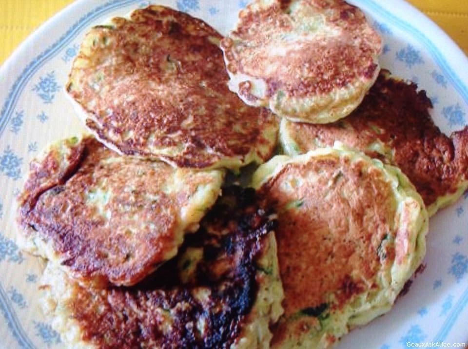 Zucchini Crispy Pancakes