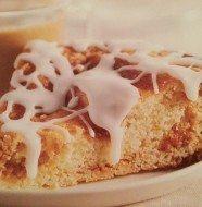 Crockpot Glazed Cinnamon Coffee Cake