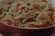 Fantastic Italian Shrimp Scampi with Linguine