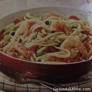 Fantastic Italian Shrimp Scampi with Linguine