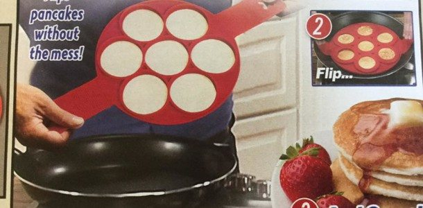 Today's Gadget is called Flippin' Fantastic. Perfect name when u need to get out multiple yummy pancakes!