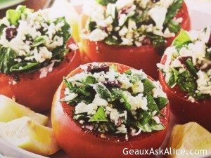 Greek Lover's Stuffed Tomatoes