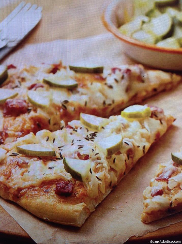 Pizza Reuben Style