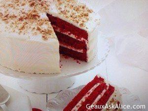 Real Southern Red Velvet Cake