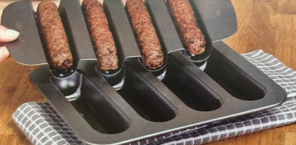 Today's Gadget is the Burger Dog Pan!