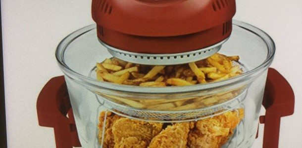 Today's Gadget is the Oil-Less Air Fryer!