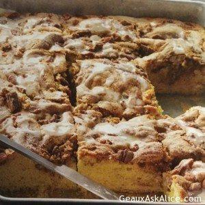 Nutty Pecan Coffee Cake