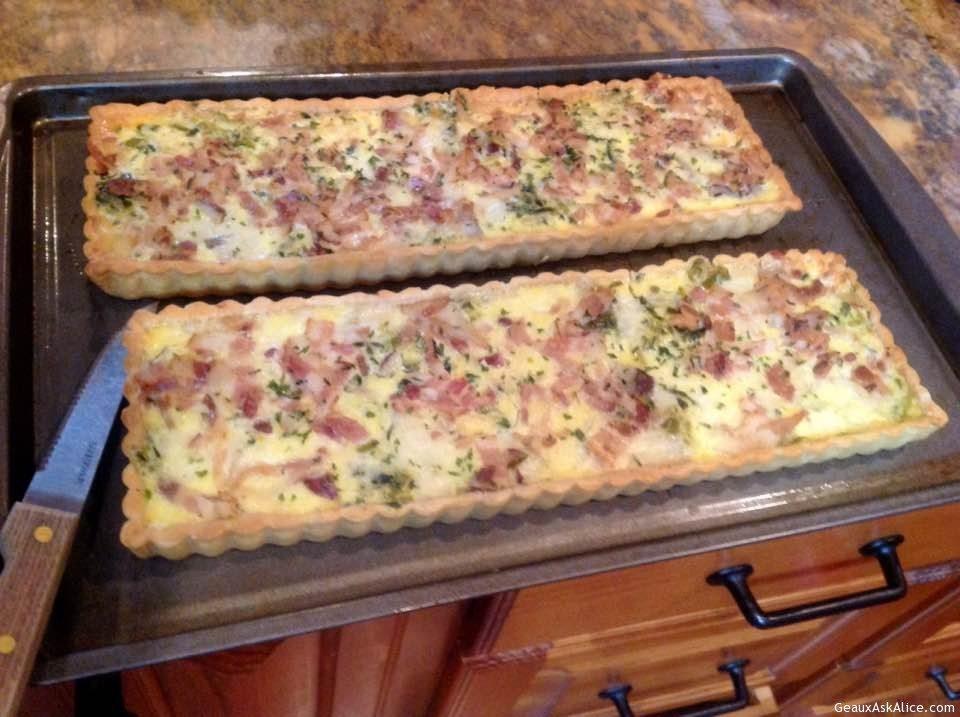 Pancetta Potato Breakfast Tart