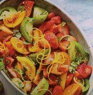 Fresh Strawberry and Tomato Combo Salad