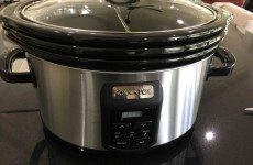 "Today's Gadget Is The Crock-Pot ""Choose-A-Crock Programmable Slow-Cooker Stainless Steel!"