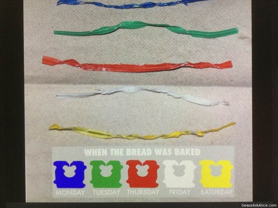Today's Silly Gadget Is The Color Coded Bread Ties!