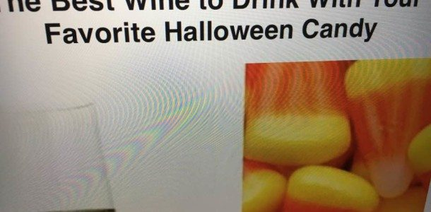And u thought Halloween Candy was just for the kids!