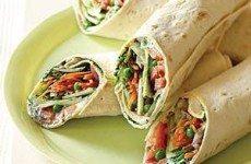 Satisfying Mediterranean Greek Wraps