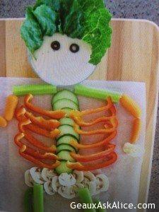 Some Halloween Veggie Ideas!1