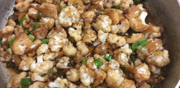 Spicy Asian Cauliflower Stir-Fry