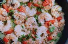 Zesty Skillet Garlic Shrimp