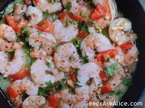 Zesty Skillet Garlic Shrimp
